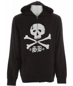 Special Blend Thugby Zip Hoodie Blackout/Crossbones