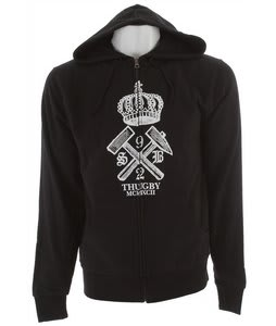 Special Blend Thugby Zip Hoodie Blackout/Crown
