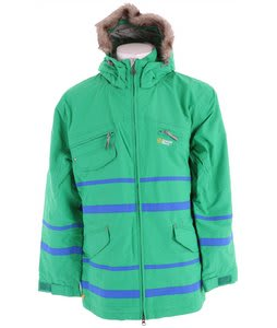 Special Blend Thugby Snowboard Jacket Crew Green