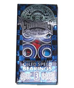 Speed Demons Abec 3 Skateboard Bearings