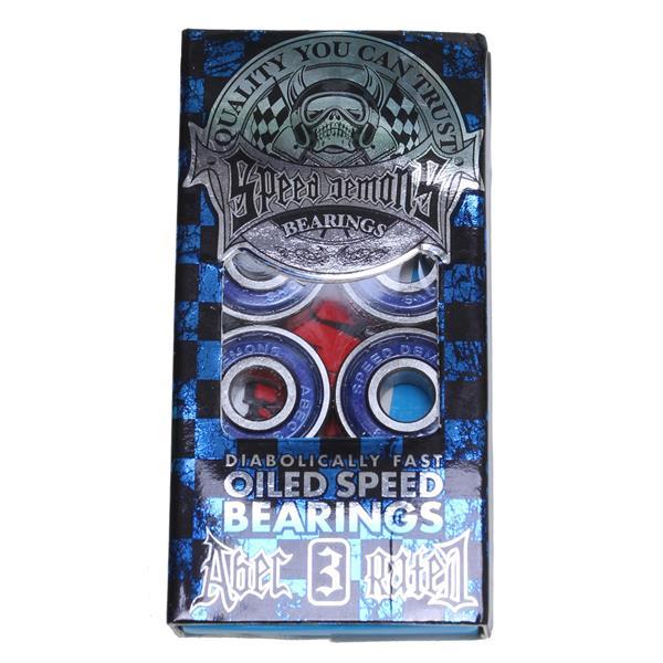Speed Demons Abec 3 Skateboard Bearings