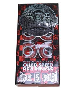 Speed Demons Abec 5 Skateboard Bearings