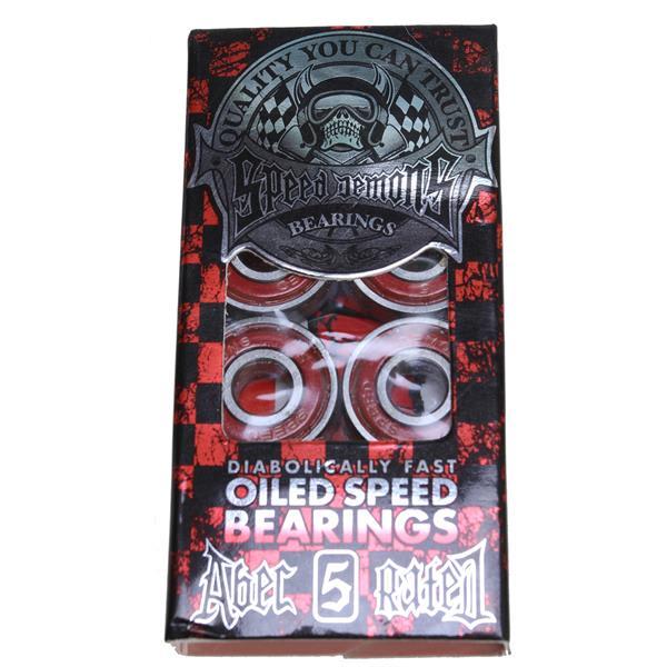 Speed Demons Abec 5 Skateboard Bearings