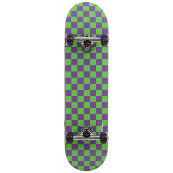 Speed Demons Checkerboard PP Skateboard Complete