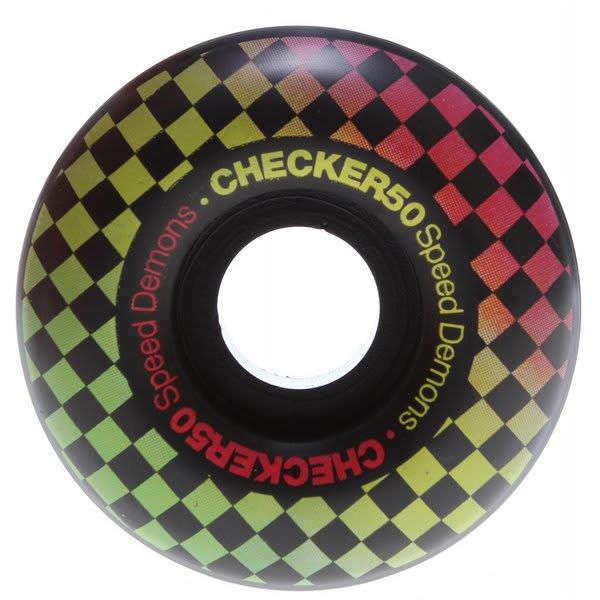 Speed Demons Check Fades Skateboard Wheels