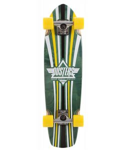 Speed Demons Keen Dusters Longboard Complete Green/Yellow