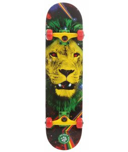Speed Demons Lion Skateboard Complete Rasta