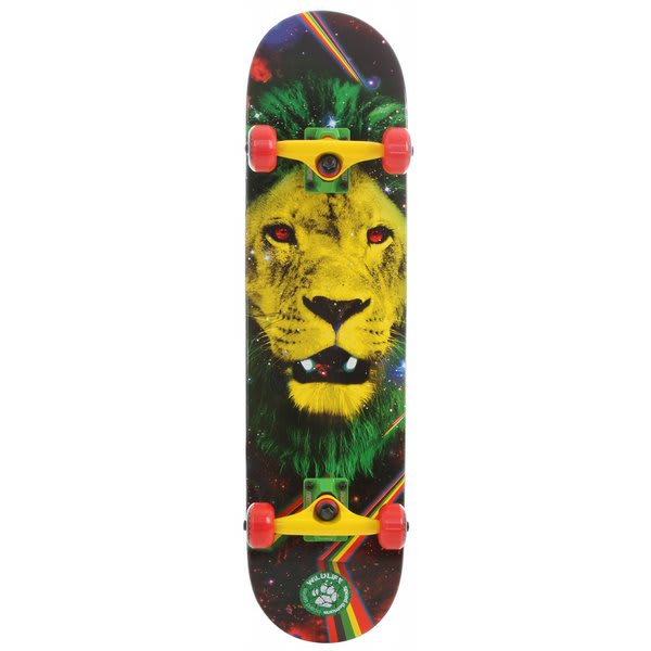 Speed Demons Lion Skateboard Complete