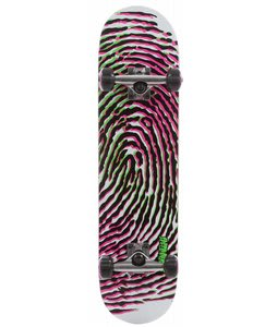 Speed Demons Pedigree Pp Skateboard Complete Yellow/Pink 7.7