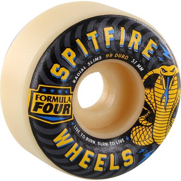 Spitfire Formula 4 99A Radial Slims Speed Kills Skateboard Wheels