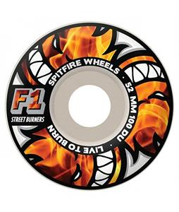 Spitfire FS1B Multiburners Skateboard Wheels White 52mm