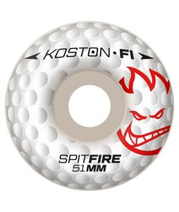 Spitfire Koston F1SB Hole In F1 Skateboard Wheels White 51mm