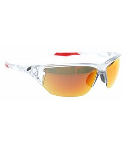 Spy Alpha Sunglasses Crystal/Bronze/Red Spectra Lens