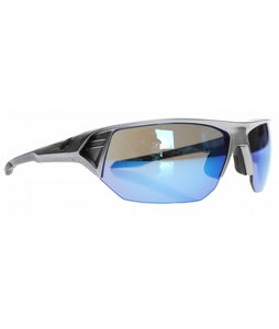 Spy Alpha Sunglasses Metallic Silver/Grey/Blue Spectra Lens