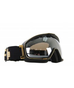 Spy Bias Goggles Black Gold/Silver Mirror Lens