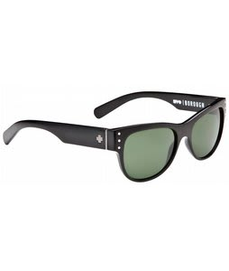 Spy Borough Sunglasses Black/Grey Green Lens