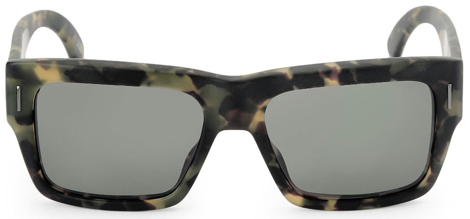 fc536d02d5fce Spy Bowery Sunglasses Matte Army Tortoise Grey Green Lens on PopScreen
