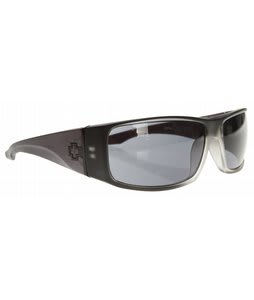 Spy Cooper XL Sunglasses Black Ice/Grey Lens