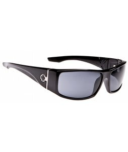 Spy Cooper XL Sunglasses Black/Grey Polarized Lens