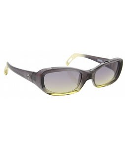 Spy Cosmik Sunglasses Grasshopper Black Green Fade Lens