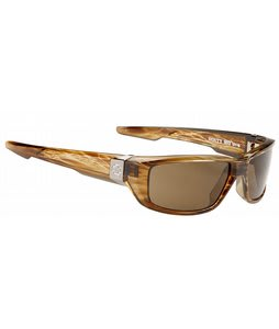 Spy Dale Jr. Dirty Mo Sunglasses Brown Stripe Tortoise/Bronze Lens