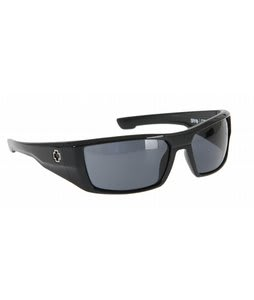 Spy Dirk Sunglasses Shiny Black/Grey Lens