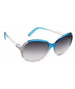 Spy Edyn Sunglasses Blue Fade/Black Fade Lens