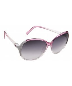 Spy Edyn Sunglasses Pop Pink Fade/Black Fade Lens