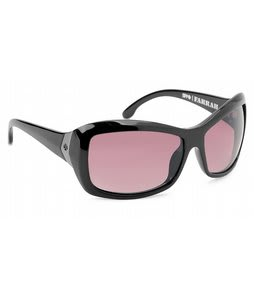 Spy Farrah Sunglasses Black/Merlot Fade Lens