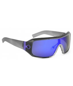 Spy Haymaker Sunglasses Black Ice/Purple Spectra Lens