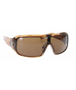 Spy Haymaker Sunglasses Brown Stripe Tortoise Bronze Lens
