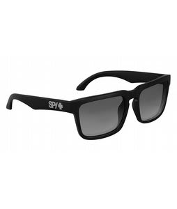 Spy Helm Sunglasses Black/Grey Polarized Lens