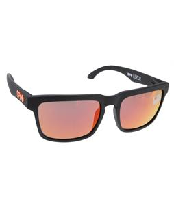 Spy Helm Sunglasses Grey/Orange Spectra Lens