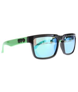 Spy Helm Sunglasses Grey w/ Green Spectra Lens