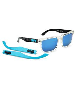 Spy Helm Sunglasses Spy + Ken Block Splatter 90 Clear/Grey/Blue Spectra Lens