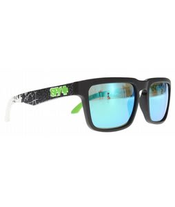 Spy Helm Sunglasses Livery Matte Black/Grey Green Spectra Lens