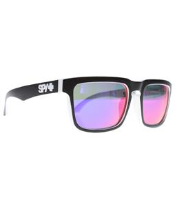 Spy Helm Sunglasses Whitewall/Grey w/ Navy Spectra Lens