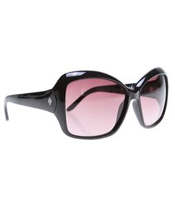 Spy Honey Sunglasses Black/Merlot Fade Lens
