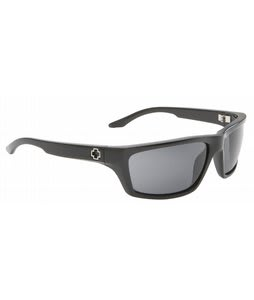 Spy Kash Sunglasses Black/Grey Lens
