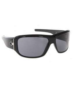 Spy Lacrosse Sunglasses Black Shiny/Grey Lens