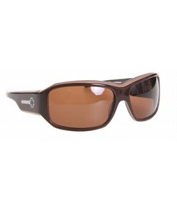 Spy Lacrosse Sunglasses Brown Layered/Bronze Lens