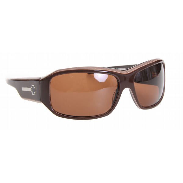 e5bae46291 Spy Lacrosse Sunglasses Brown Layered Bronze Lens on PopScreen