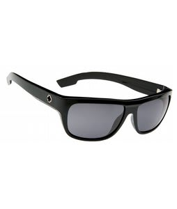 Spy Lennox Sunglasses Shiny Black/Grey Lens