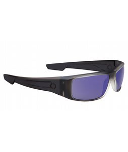 Spy Logan Sunglasses Black Ice/Purple Spectra Lens