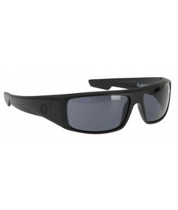 Spy Logan Sunglasses Matte Black/Grey Lens