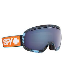 Spy Marshall Goggles All Dayer/Happy Rose/Dark Blue Spectra + Happy Bronze/Silver Mirror Lens