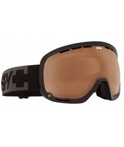 Spy Marshall Goggles Black/Bronze Lens