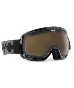 Spy Marshall Goggles Black/Bronze/Silver Mirror Lens