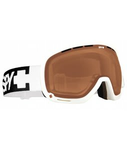 Spy Marshall Goggles White/Bronze Lens