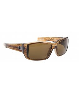 Spy MC2 Sunglasses Brown Stripe Tort/Bronze Polarized